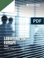 Lobbying en Europe Resume Et Recommandations Avril 2015