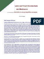 Acque e Mulini Nel Friuli Occidentale