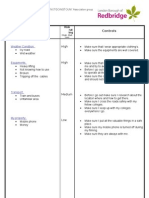 LOUGHTON PAGE Risk Assessment Form