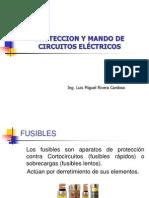 PROTECCION Y MANDOS DE CIRCUITOS ELECTRICOS