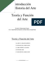 01. TEORÍA Y FUNCIÓN DEL ARTE