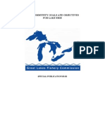 Fish community goals and objectives for Lake Erie