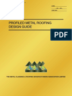 Profiled Metal Roofing Design