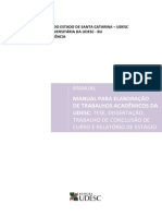 Manual Udesc