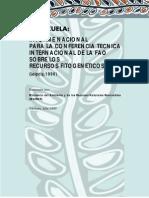 1er Informe RFAA