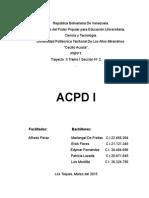 ACPD 1 - Discapacidad Auditiva (Trabajo) FINAL