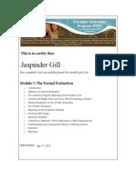 nurs 5-the-formal-evaluation 2015 04 17