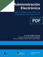 Administracion-electronica Mito o Realidad Para Los Ciudadanos Del s Xxi
