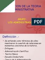 EVOLUCION DE LA TEORIA ADMINISTRATIVA.pptx