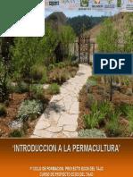 Introduccion a La Permacultura