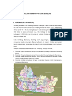 Morfologi Kota Bandung