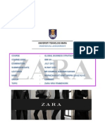 Zara Retailing   Vertical Integrated ZARA  Fast Fashion Case Study M anagement I nformation S ystems January