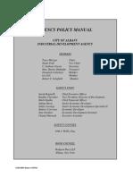 City of Albany IDA Policy Manual 2015