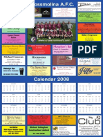 Crossmolina AFC Calendar 2008