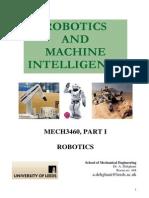 Mech3460 Robotics 11 12