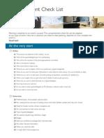 Meeting Planner Checklist