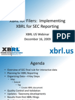 XBRL-US Dec2009 Webcast Slides