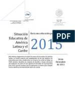 Unesco - Situacion Educativa 2015