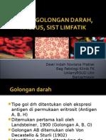 Golongan darah, RH, p limfa,ppt.2PSIK.ppt