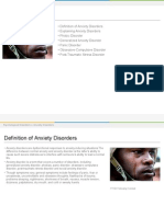 anxiety disorders lesson plan