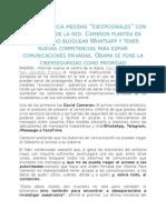 informe francia control de la red
