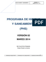 m&m Phs Marzo 2014 Planta Chepén