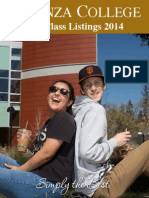 Class Listing Fall 2014