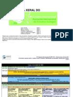 XI Congreso de Entidades Gallegas - Programa Xeral