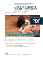 ActiveSync and Exchange web service client protocol connectivity flow in Exchange 2013/2010 coexistence   4/4   23#23