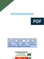 ANTIESPASMODICOS