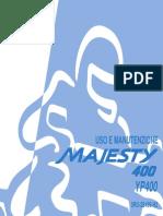 Manuale Yamaha Majesty 400