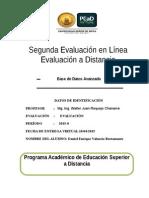 2da Examen en Lianea Bda