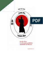Kyusho Jitsu - 36 Puntos Vitales Prohibidos Del Bubishi de Okinawa - Leopoldo Munoz Orozco