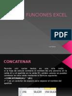 Funciones Excel - Presentacion