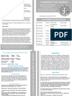 Newsletter 18-19th April 2015