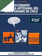 Dicionario de Pesca Artesanal Del Norte de Chile