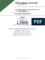 Music Educators Journal 1990 Atterbury 46 9