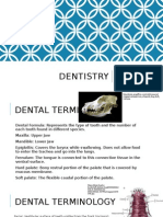 dental cleaning and dental diseases advanced terminology mid term