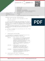 DTO 854_02 DIC 2004, Clasificaciones Presupuestarias