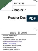 5. ENGS 157--Reactor Design
