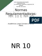 Normas Regulamentadoras NR 10 e NR25