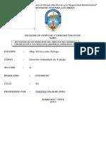 APLICACIÓN DE LOS PRINCIPIOS DEL DERECHO DEL TRABAJO CON RELACION A LOS DERECHOS LABORALES SEÑALADOS EN LA CONSTITUCION POLITICA.docx