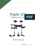 Manual Bateria Triple-D5