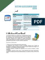 Instructivo Elecciones FEUV 2015
