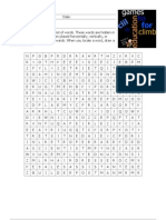 Jobs Word Search