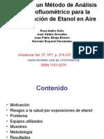 seminario sobre etanol en aire