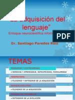 Santiago Predes - La Adquisición Del Sistema Del Habla