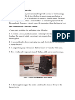 The Thermoelectric Generator