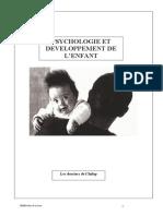 Psychologie Et Développement de l'Enfant Dossier CEMEA