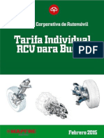 Tarifa Autobuses Rutas Interurbanos Febrero 2015 (u.t. Bs